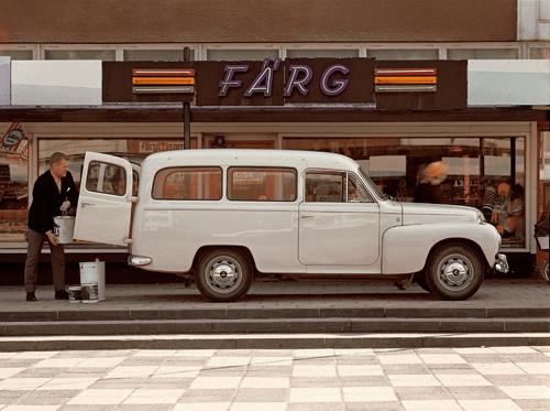 1967 - Volvo P210 Duett at Doktor Fries torg in Göteborg