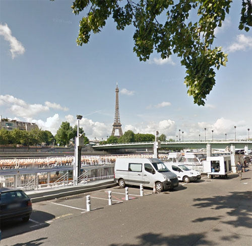2015 - Pont de l'Alma in Paris (Google Streetview)
