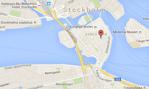 2016 - Bollhusgränd in Stockholm Maps01