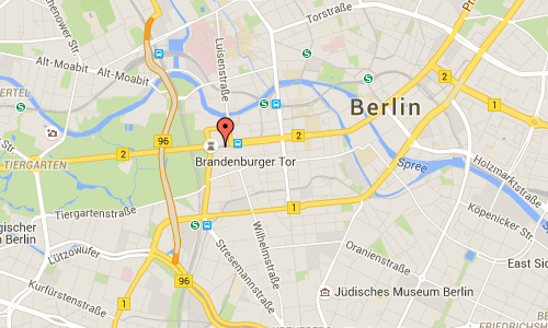 2016 - Brandenburger Tor in Berlin maps01