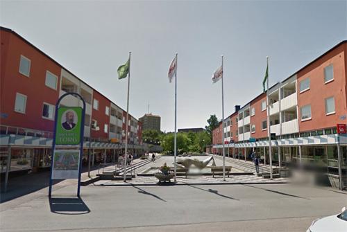 2016 - Dokter Fries torg in Göteborg (Google Streetview)