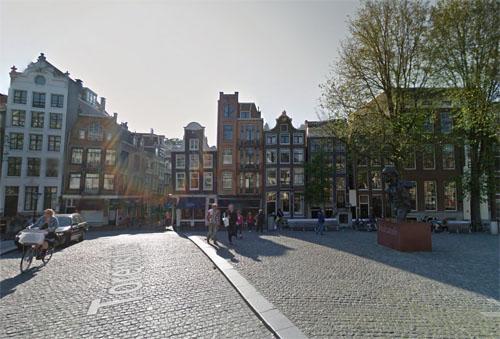 2016 - Torensluis at Singel  in Amsterdam (Google Streetview)