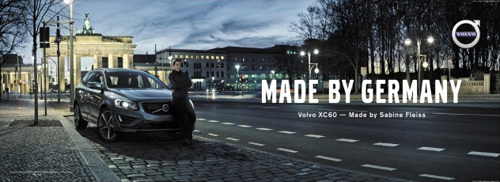 2016 - Volvo XC60 - Made by Germany text