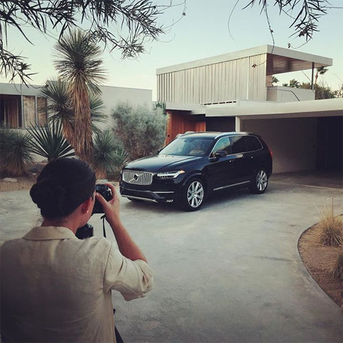 2016 - Volvo XC90 - Making of... (photo by  Jamie Beck @annstreetstudio)