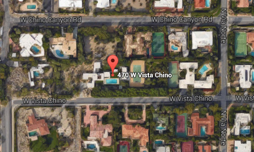 470 W Vista Chino maps02