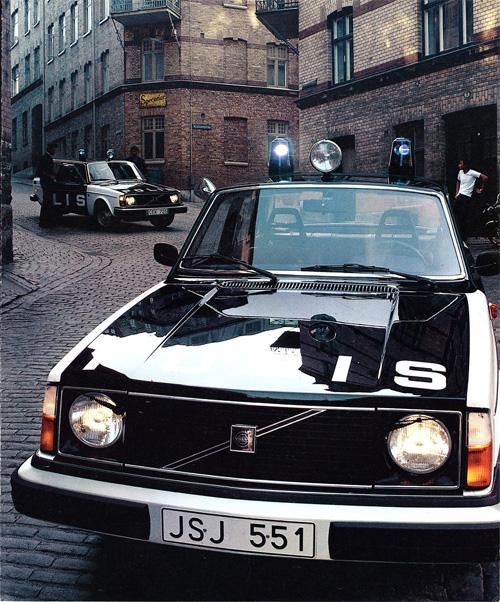 1978 – Volvo 244 DL Polis