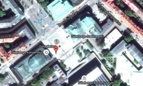 2016 - Konserthuset at Götaplatsen in Göteborg maps02