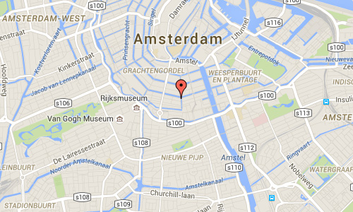 2016 - Made by The Netherlands - Reguliersgracht Maps01