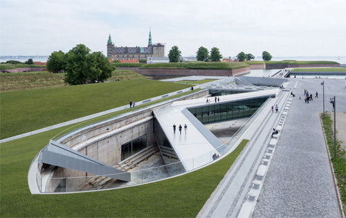 2016 - Museet for Søfart in Helsingør  (Photo by BIG - Bjarke Ingels Group)
