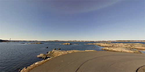 2016 - Stora Vägen on Fotö - Hönö (Google Streetview)