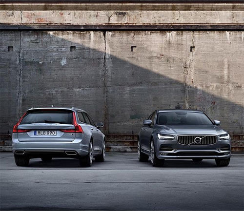 2016 - Volvo V90 and S90