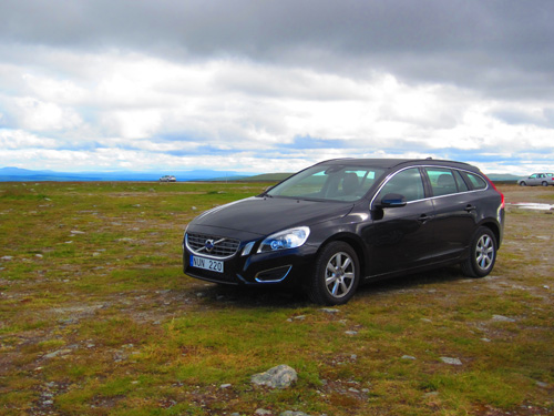 2012 - Volvo V60 (own photo during summer vacation at Flatruet)
