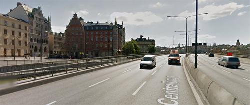 2016 - Centralbron in Stockholm (Google Streetview)