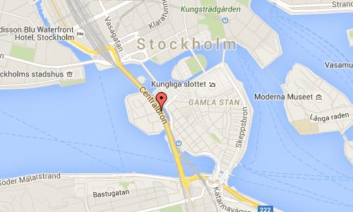 2016 - Centralbron in Stockholm Maps01