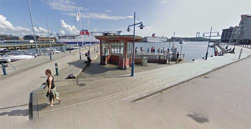 2016 - Dockepiren in Eriksberg, Göteborg (Google Streetview)