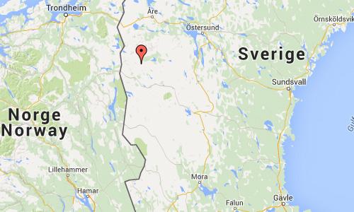 2016 - Flatruetvägen in Härjedalen Maps01