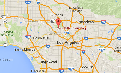 2016 - Griffith Observatory Maps01