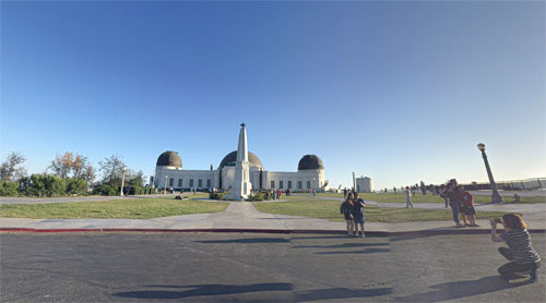 2016 - Griffith Observatory at E Observatory Rd Los Angeles USA (Google Streetview)
