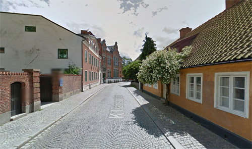 2016 - Kiliansgatan in Lund (Google Streetview)