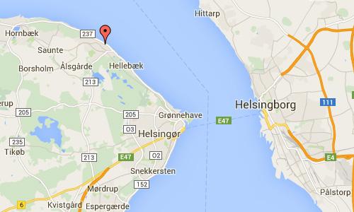 2016 - Nordre Strandvej in Ålsgårde Danmark Maps01