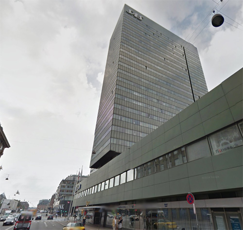 2016 - Radisson Blu Royal Hotel at Hammerichsgade 1 in Copenhagen (Google Streetview)