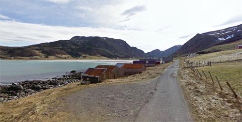 2016 - Refviksanden on Vågsøy in Norway (Google Streetview)