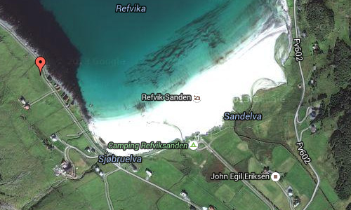 2016 - Refviksanden on Vågsøy Maps02