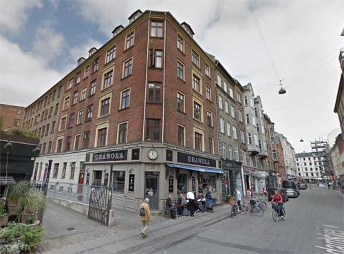 2016 - Værnedamsvej 5 in Frederiksberg, Copenhagen (Google Streetview)