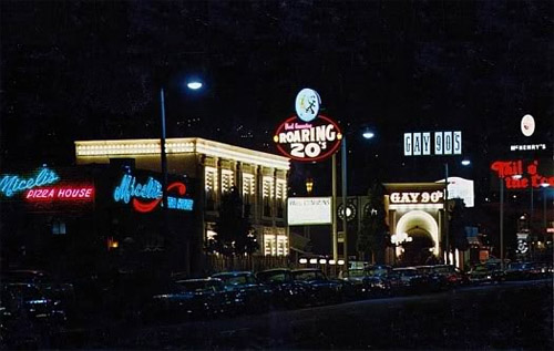 1960 - Paul Cummings Roaring 20s Night Club at 133 N La Cienega in Los Angeles