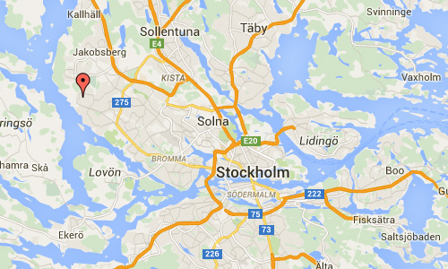 2016 - Älghagsstigen in Hasselby Stockholm Maps01