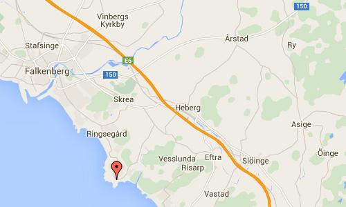 2016 - Bobergs Kustväg in Falkenberg Maps01