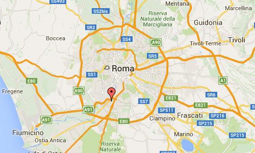 2016 - Colosseo Quadrato in Rome Maps01