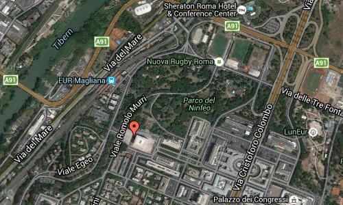 2016 - Colosseo Quadrato in Rome Maps02