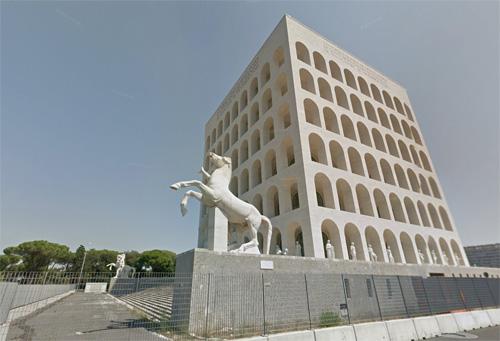 2016 - Colosseo Quadrato in Rome (Google Streetview)