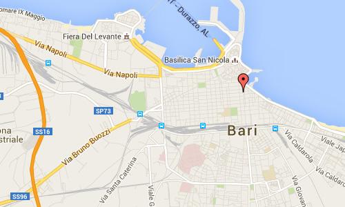 2016 - Corso Cavour in Bari Maps01