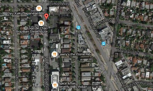 2016 - N La Cienega Blvd Maps02