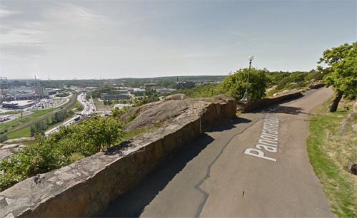 2016 - Panoramavägen in Göteborg (Google Streetview)