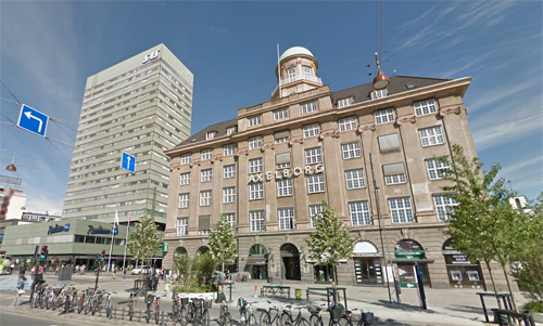 2016 - Axelborg on Vesterbrogade in Copenhagen (Google Streetview)