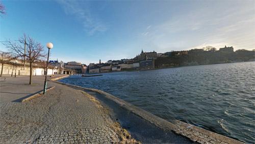 2016 - Munkbrohamnen in Stockholm (Google Streetview)