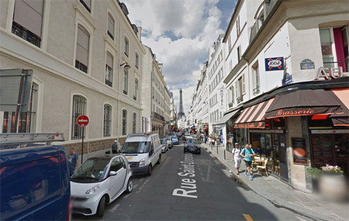2016 - Rue Saint-Dominique and Rue Surcouf in Paris, France (Google Streetview)