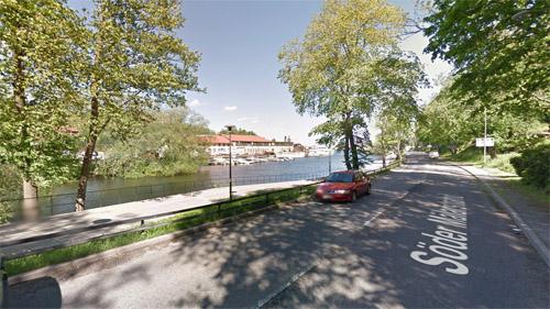2016 - Söder Mälarstrand in Stockholm (Google Streetview)