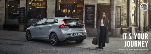 2016 - Volvo V40 - Its your Journey