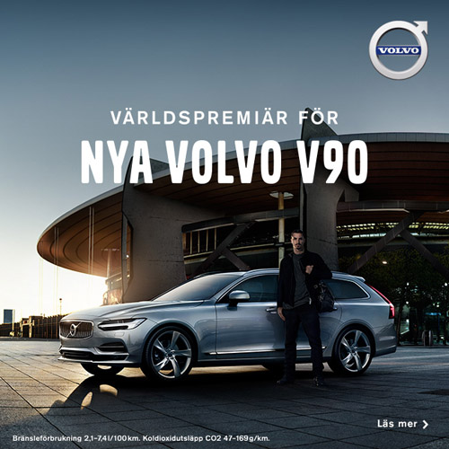 2016 - Volvo Cars' new V90 campaign features footballing legend Zlatan Ibrahimović