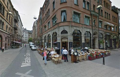 2016 - Wienercafeet at Mäster Samuelsgatan in Stockholm (Google Streetview)
