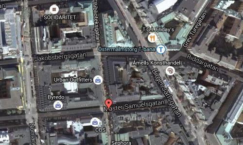 2016 - Wienercafeet at Mäster Samuelsgatan in Stockholm Maps02
