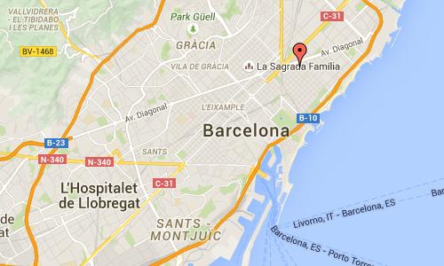 2016 - Carrer de Tànger in Barcelona Maps01