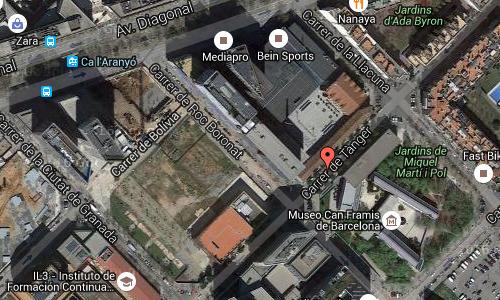 2016 - Carrer de Tànger in Barcelona Maps02