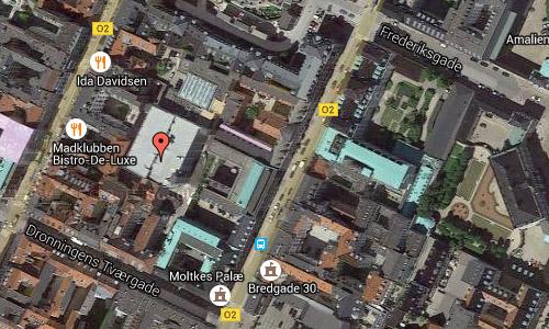 2016 - Jeudan Parkering on Dronningens Tværgade 4 in Copenhagen Maps02