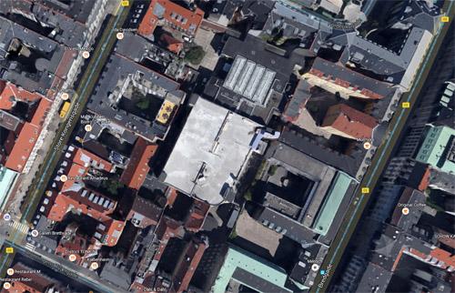 2016 - Jeudan Parkering on Dronningens Tværgade 4 in Copenhagen (Google Maps)