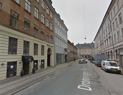 2016 - Jeudan Parkering on Dronningens Tværgade 4 in Copenhagen (Google Streetview)